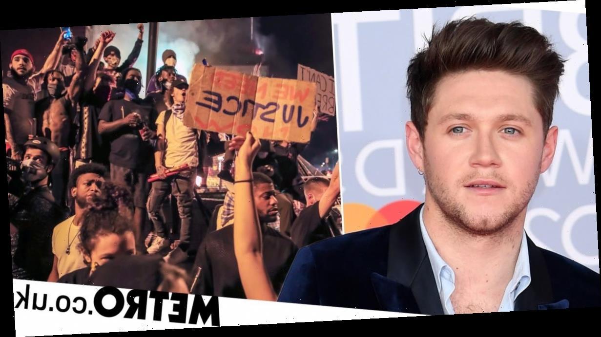 Niall Horan slams Donald Trump's tweet calling George Floyd protestors 'thugs'