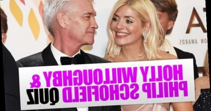 Holly Willoughby and Philip Schofield quiz questions and answers