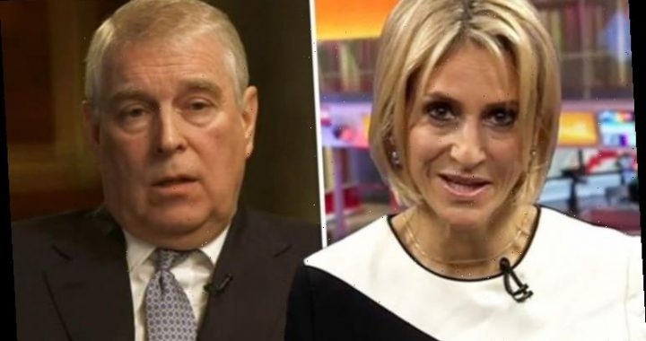 Emily Maitlis: Newsnight host's co-star addresses call to 'pull' Prince Andrew interview