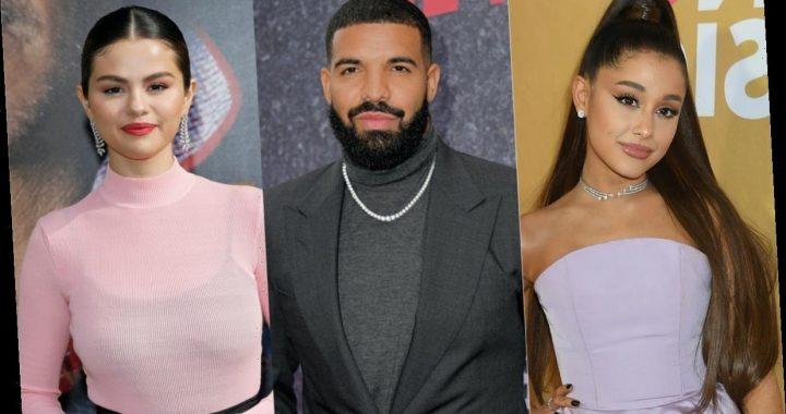 "Drake's ""Popstar"" Lyrics About Selena Gomez, Justin Bieber, & Ariana Grande Are A Lot"