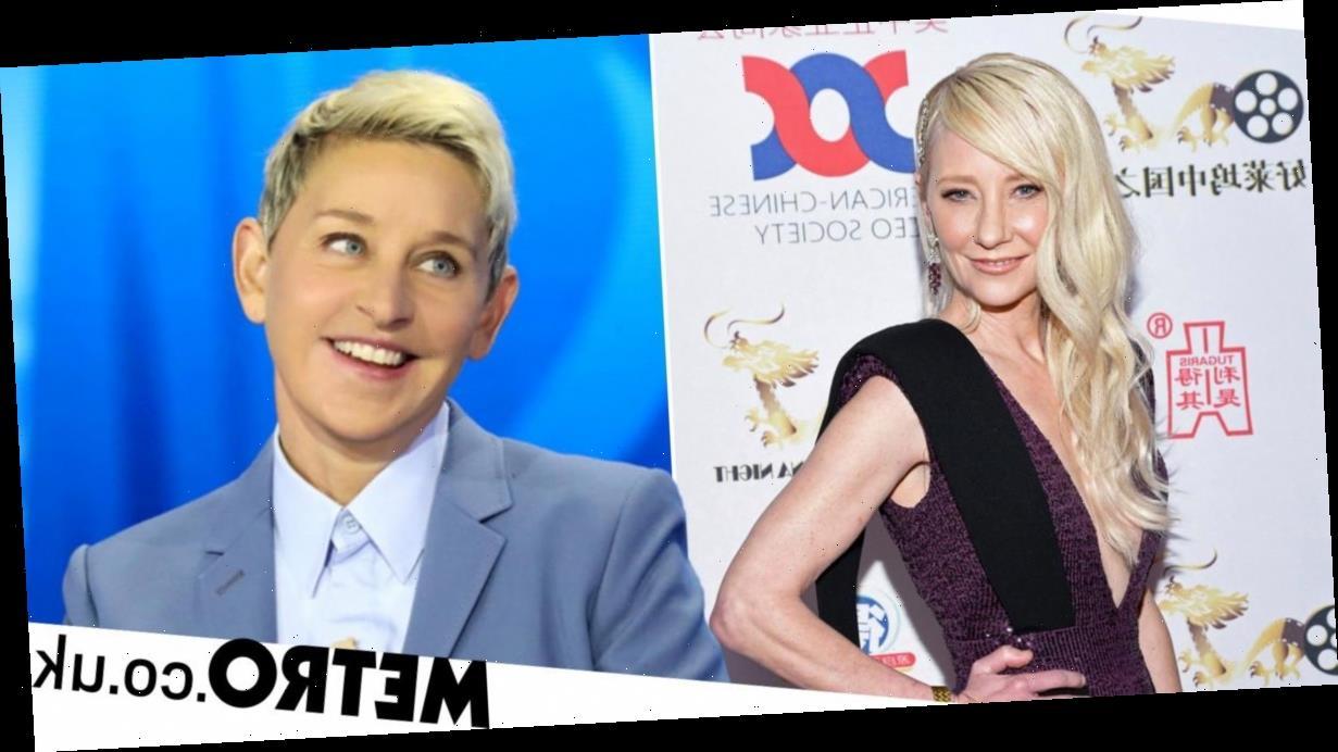Anne Heche Says Dating Ellen DeGeneres Is The Reason She