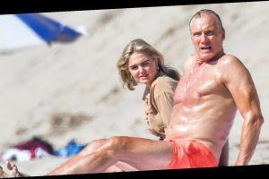 Dolph Lundgren, 62, Hits the Beach with His Fiancee Emma Krokdal, 24