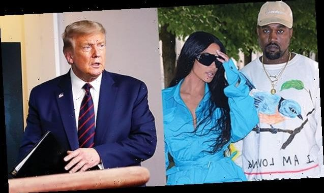 Donald Trump Gushes Over Kim Kardashian As He Denies Trying To Get Kanye West On Ballot