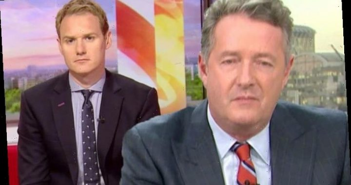 Dan Walker points out 'disturbing' element in ITV rival Piers Morgan's snap 'Nice bangers'