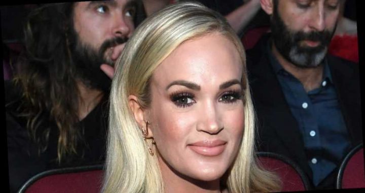 The real reason Carrie Underwood's lips looked different at the ACM Awards