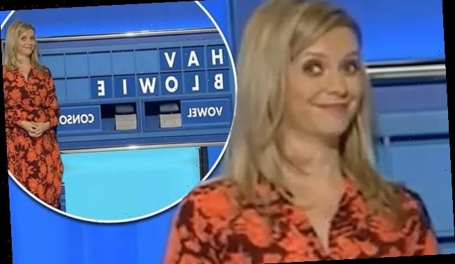 Rachel Riley's face is priceless as cheeky word is given on Countdown