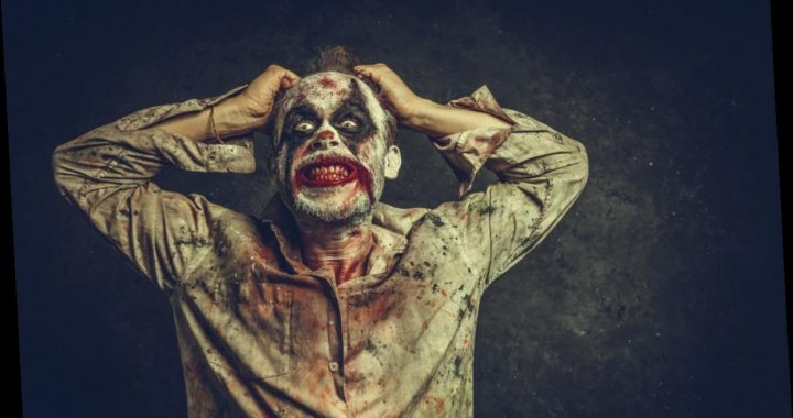 These 16 Scary Zoom Backgrounds Include Creepy Clowns & Zombies