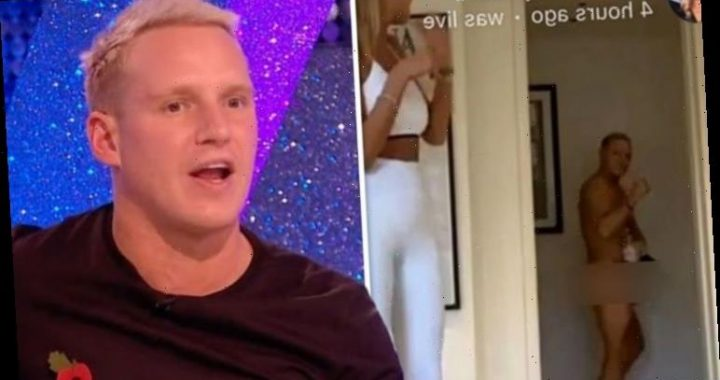 Jamie Laing: Strictly star stuns fans as he accidentally walks into livestream NAKED