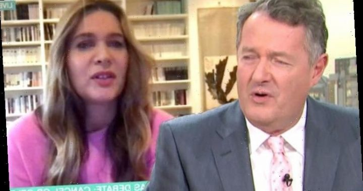 Piers Morgan reacts after This Morning viewers say he's 'punching' with wife Celia Walden