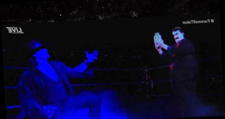 The Undertaker Retires from WWE After 30 Years with Fire, Explosions & Hologram!