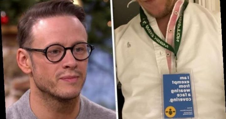 Kevin Clifton responds to disappointed fan as he clarifies his Laurence FoxTwitterremark