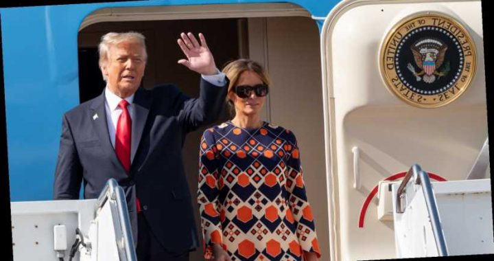 What The Trumps Really Looked Like Arriving In Florida