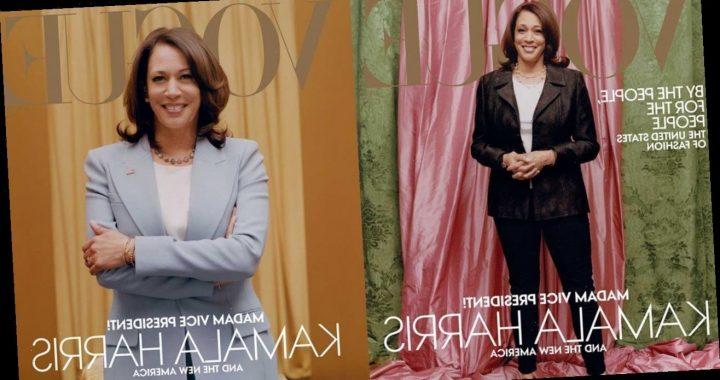'Vogue' to Publish Alternative Kamala Harris Cover Following Backlash