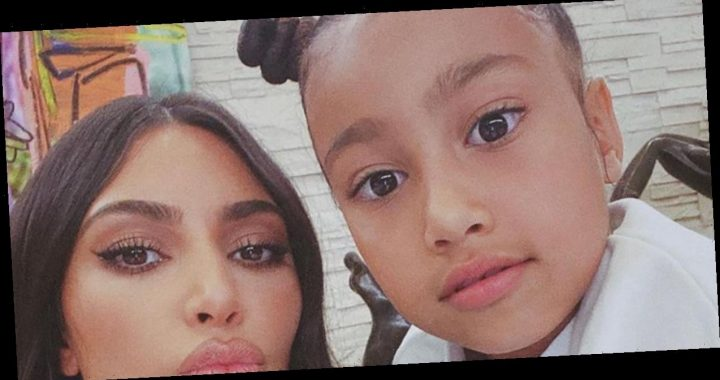 North West Actually Did Paint that Viral Picture