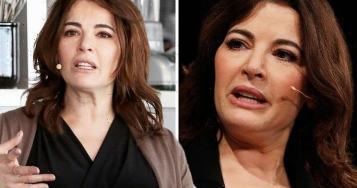 Nigella Lawson speaks out after her minesweeping wine tactic sparked backlash from viewers