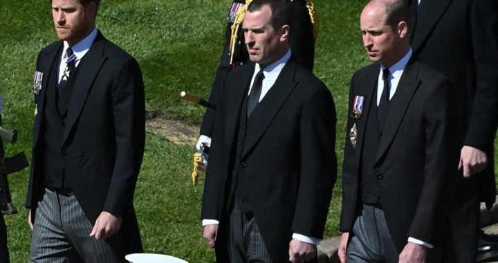 Prince William really did demand that Peter Phillips act as a buffer at the funeral