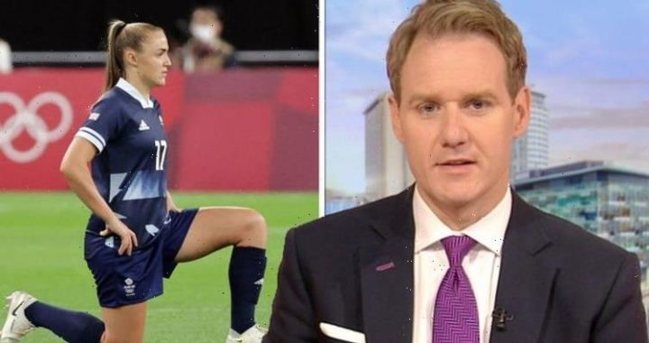 BBC Breakfasts Dan Walker backs athletes taking the knee at Olympics You have to listen