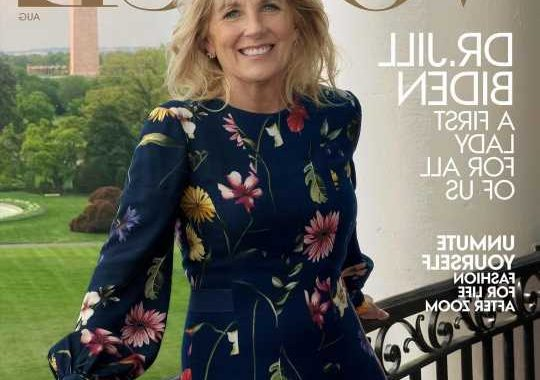 Dr. Jill Biden covers Vogue: I feel as though people can breathe again