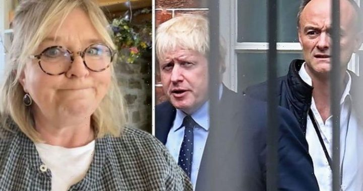 Fern Britton rages at Cummings and Boris Johnson over BBC interview: 'Fuelled by revenge