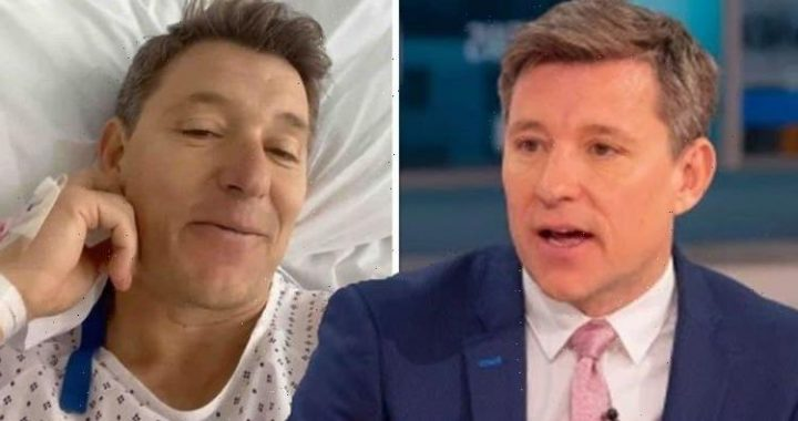 Really hurts GMB's Ben Shephard winces through pain of rehab as he shares surgery update