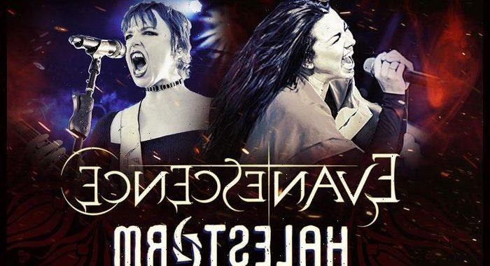 Evanescence, Halestorm Add Dates To Co-Headlining Fall Tour