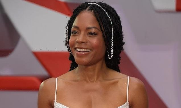 No Time To Die: Naomie Harris stuns in a cut-out white dress