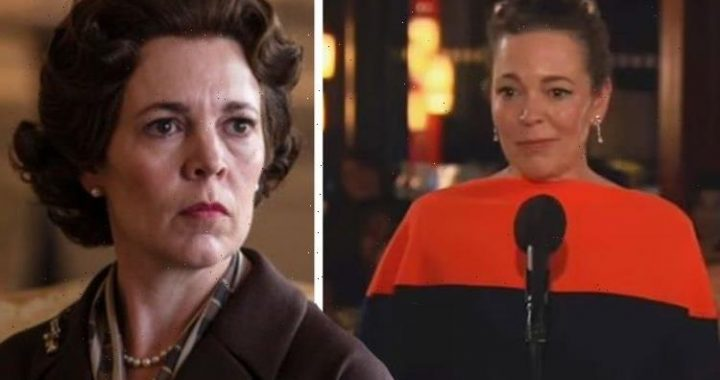 Olivia Colman tearfully addresses devastating loss of her father during Emmys 2021 speech
