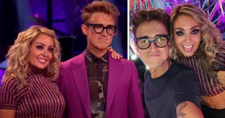 Strictly stars Amy Dowden and Tom Fletcher labelled a Covid disaster waiting to happen