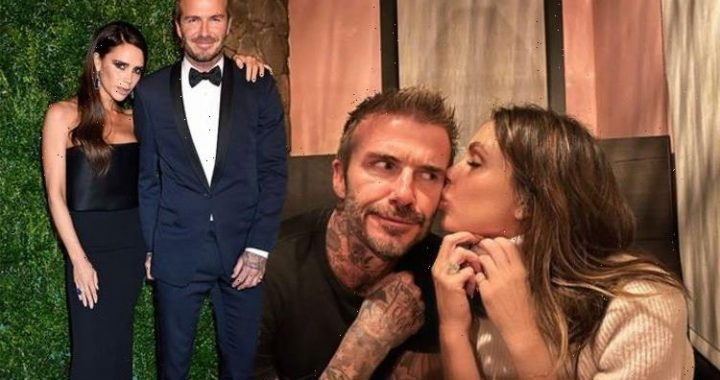 David Beckham apologises to kids over embarrassing date night snap with Victoria Beckham