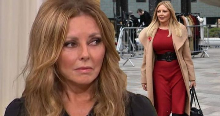 Loss never leaves Carol Vorderman shares mothers grief over heartbreaking miscarriage