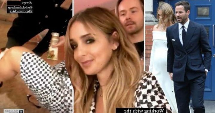 Louise Redknapp flashes pins in glamorous display a week on from Jamies wedding news