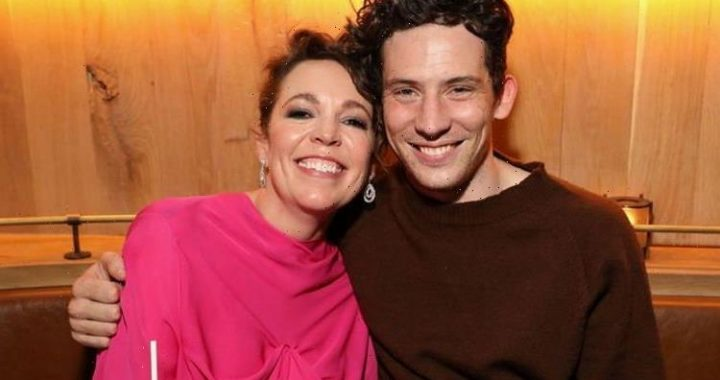 The Crowns Olivia Coleman reunites with Josh OConnor at The Lost Daughter premiere