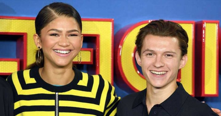 Tom Holland Sent a Sweet Show of Support to Zendaya During the 'Dune' Premiere