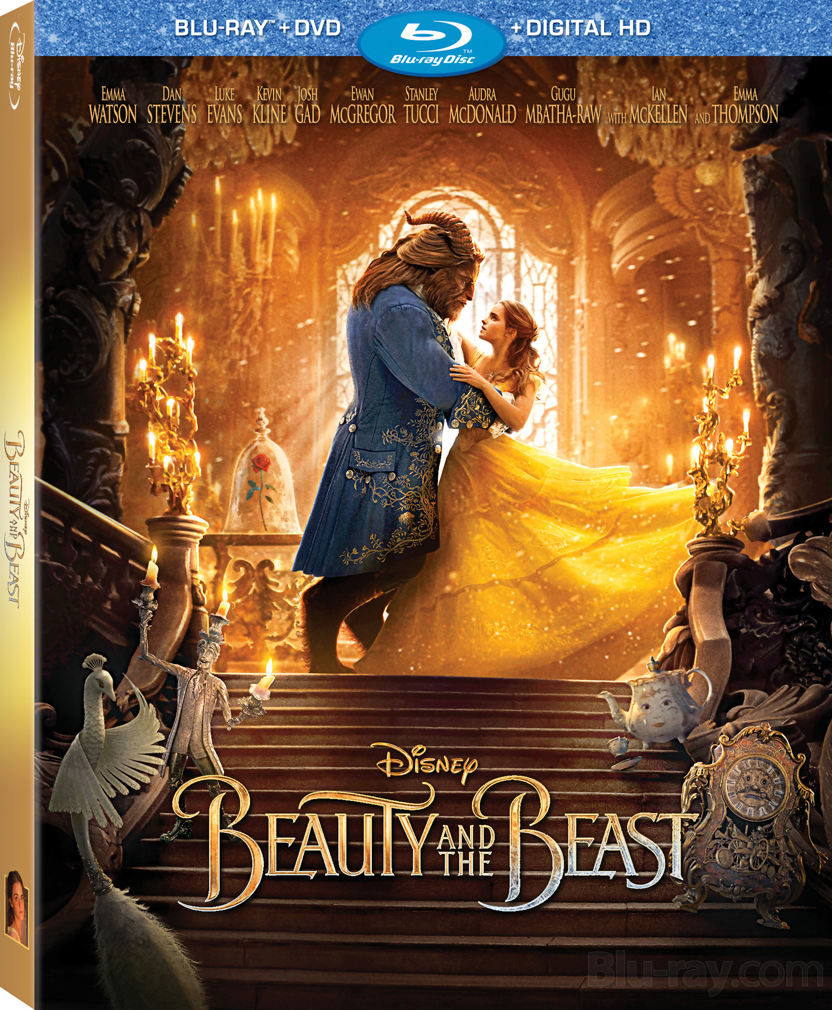 Amazons Choice for beauty and the beast blue raydvd…