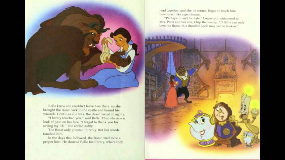 Beauty and the beast disney story