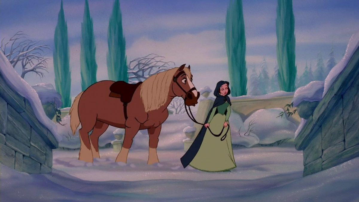 Beauty and the beast horse
