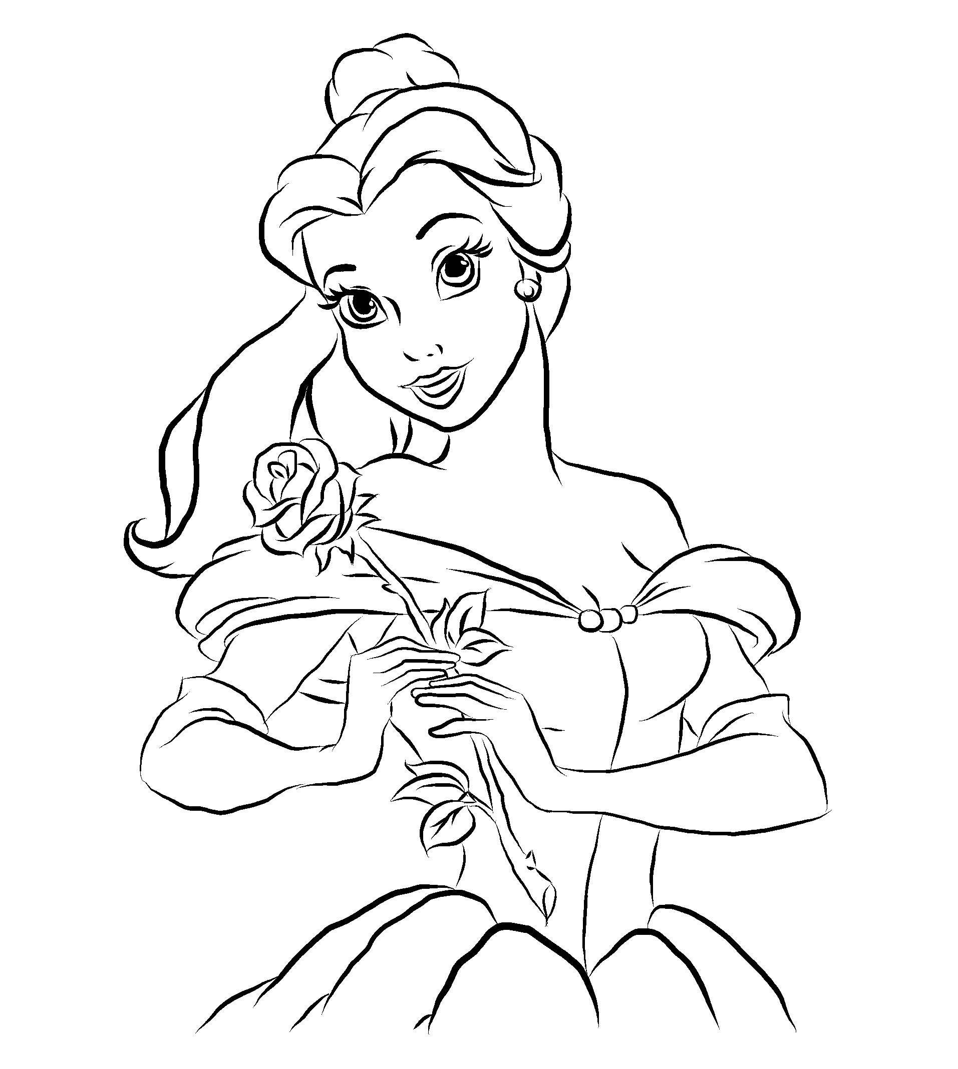 Beauty and the beast outline