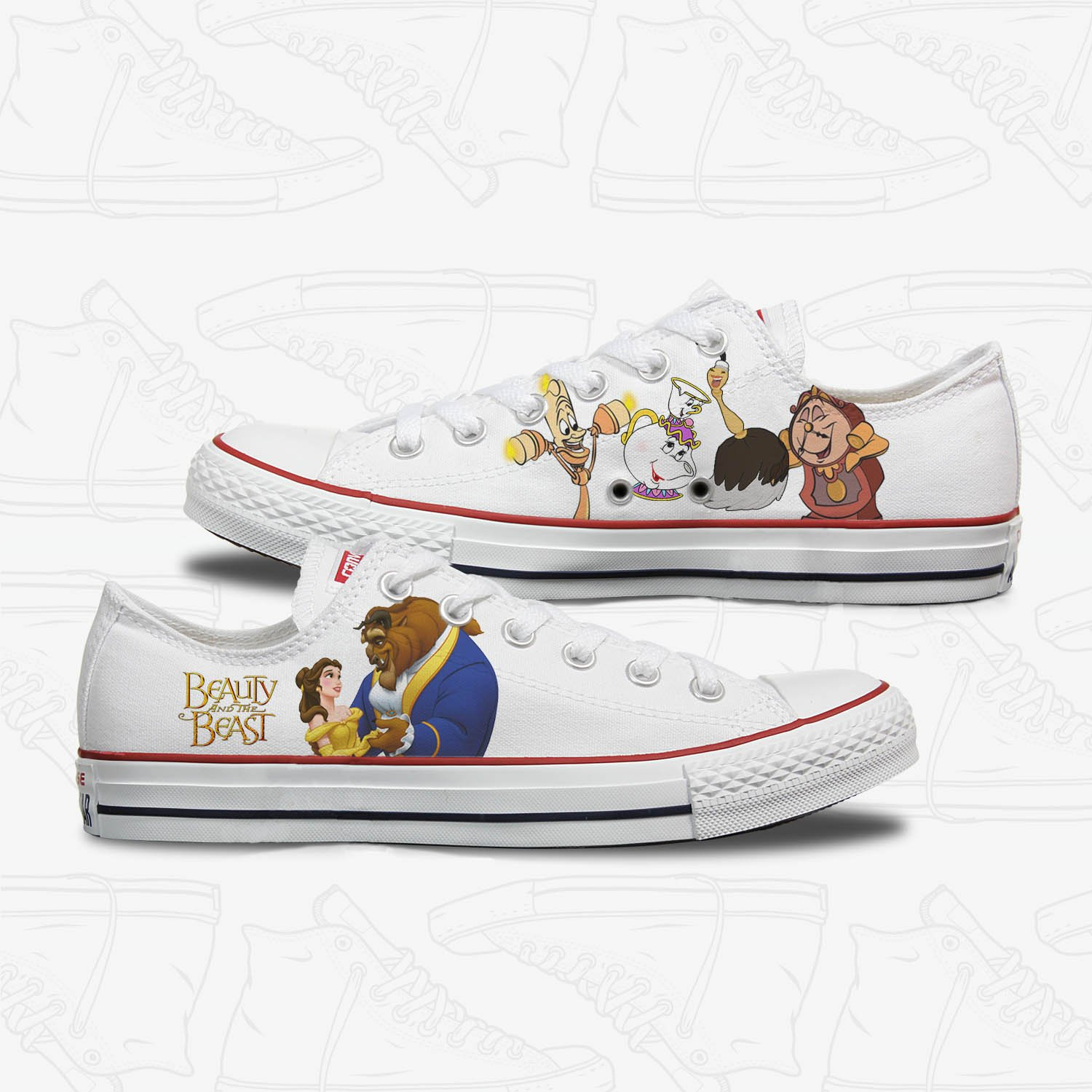 Check out our beauty and the beast shoes selection …