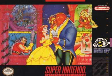 Beauty and the beast snes