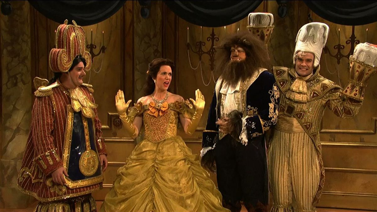 Once upon a time, Saturday Night Live aired a Beauty and the Beast-themed …