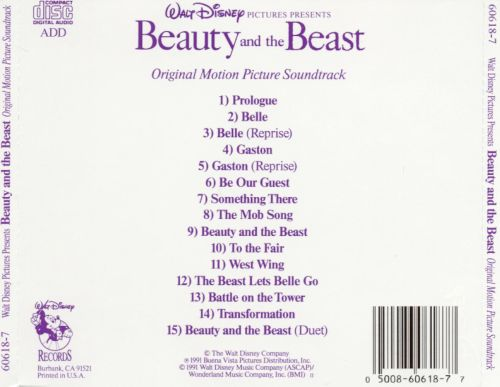 Beauty and the beast song original