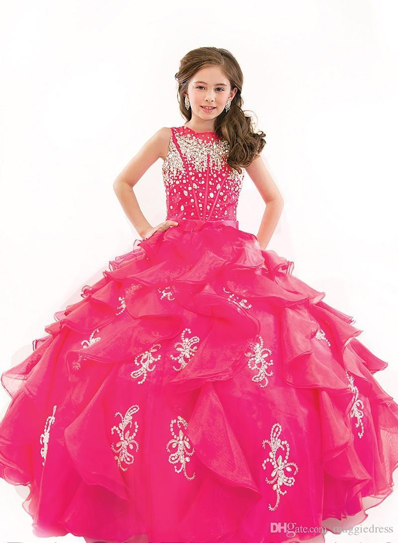 Our diverse beauty pageant dresses come in a variety of styles…
