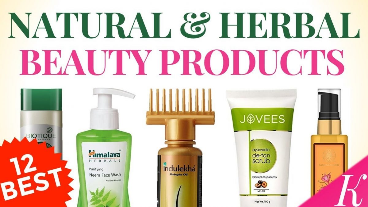 Best natural beauty products