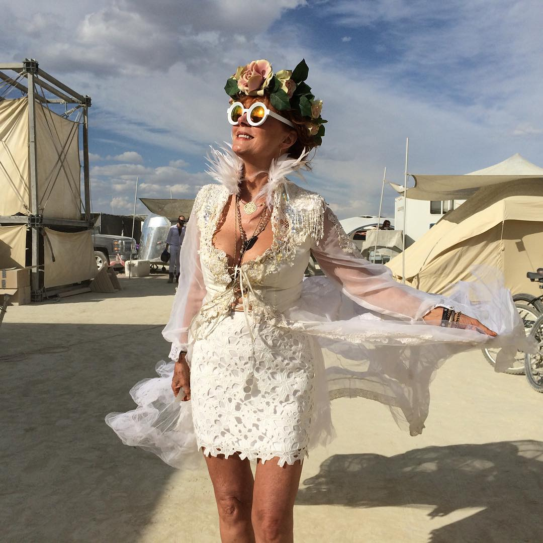 T noticed, the annual Burning Man festival has just begun, …
