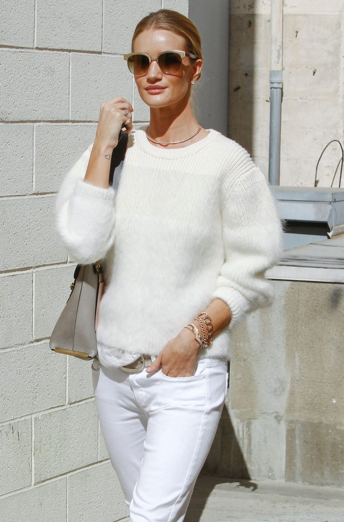 Celebrities and supermodels looking gorgeous and glamorous in their soft, woolly …