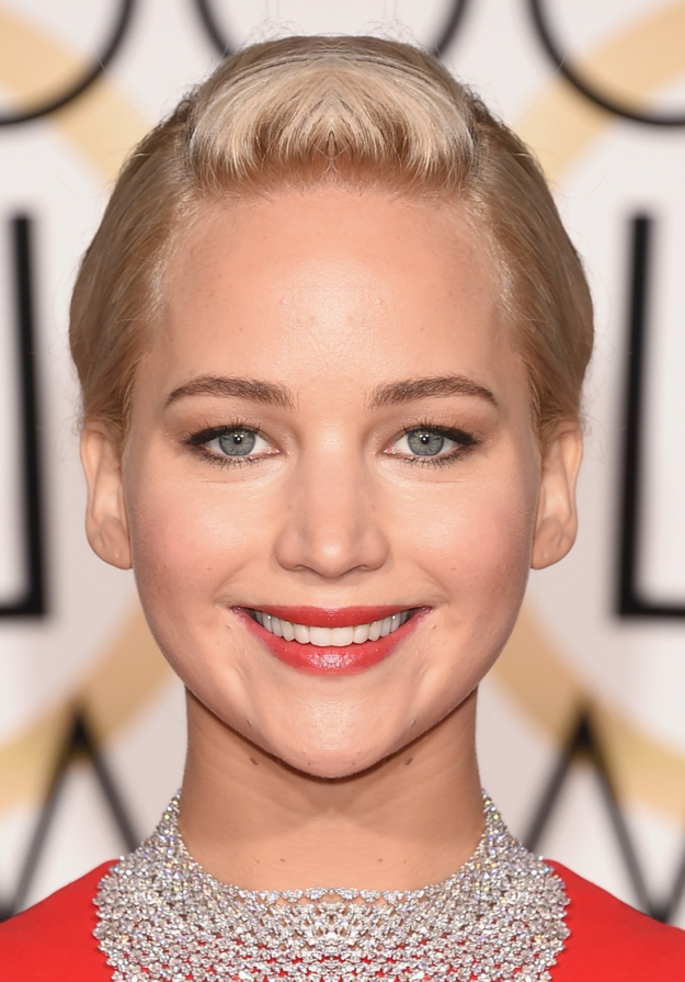 Celebrities with asymmetrical faces