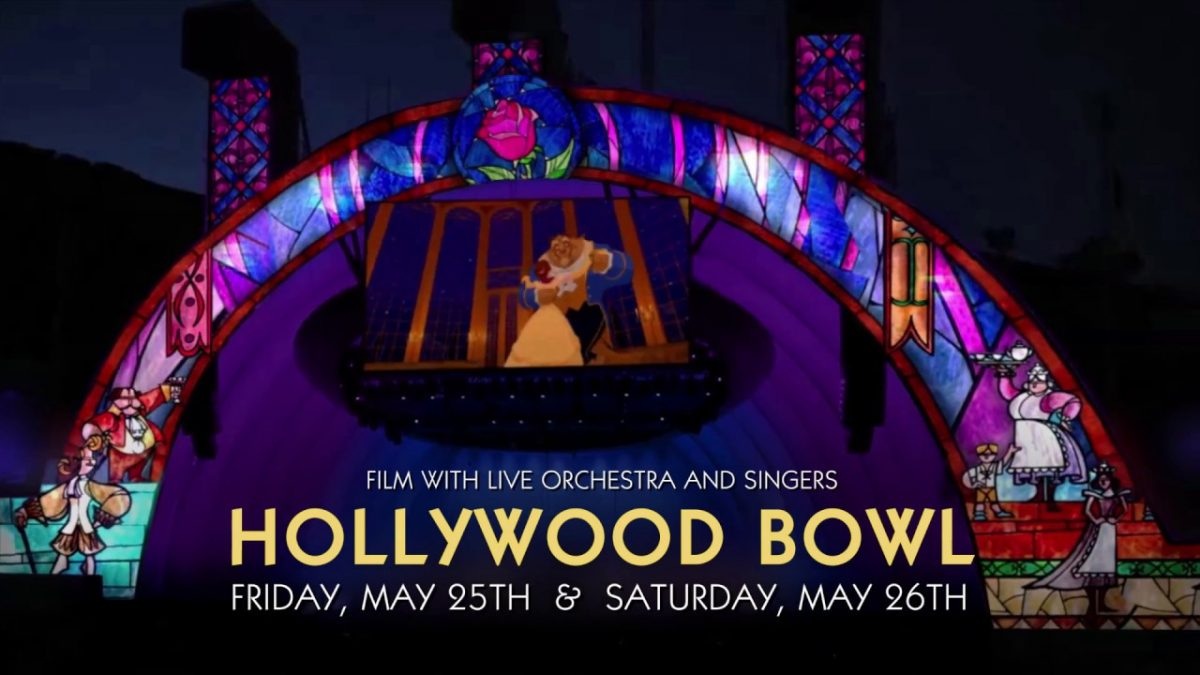 Hollywood bowl beauty and the beast
