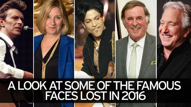 How many celebrities died in 2016