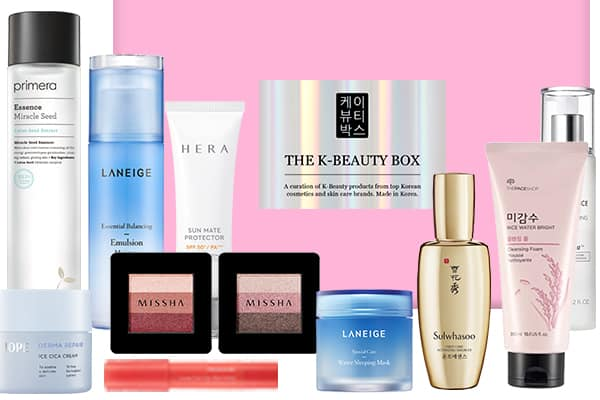 Contact us The Best Korean Beauty Subscription Boxes…