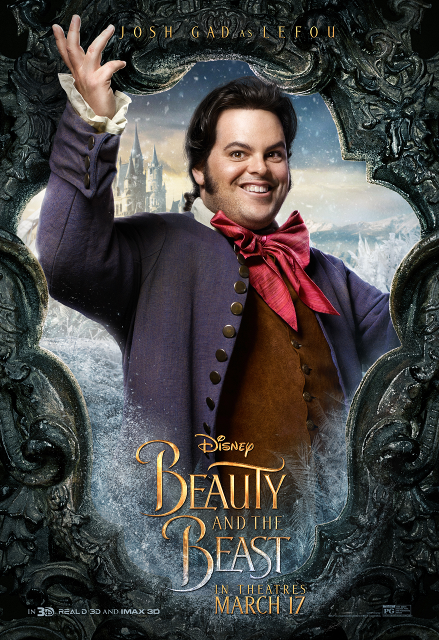 LeFou is the, former, secondary antagonist, in Disneys 2017 Beauty and the Beast…